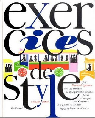 "Spectacle ""Exercices de Style"""