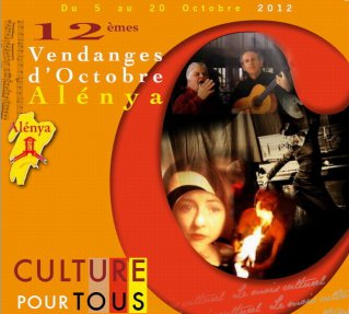 Vendanges d'Octobre ; spectacle Marionnettes