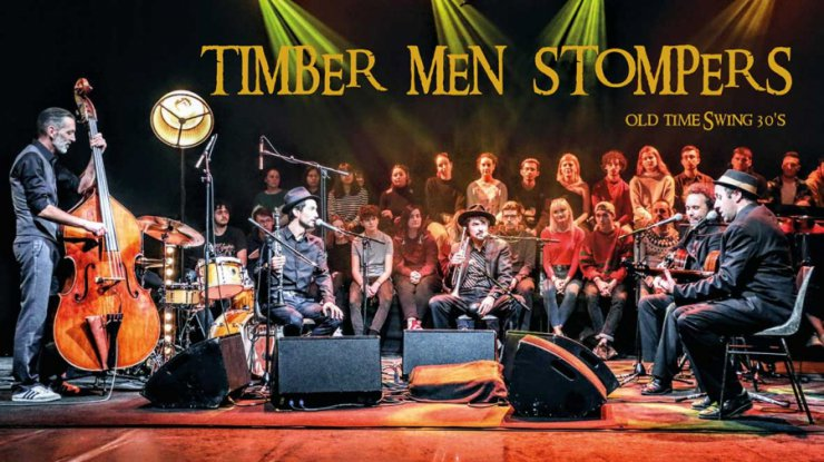 Concert Timber Men Stompers, Thuir