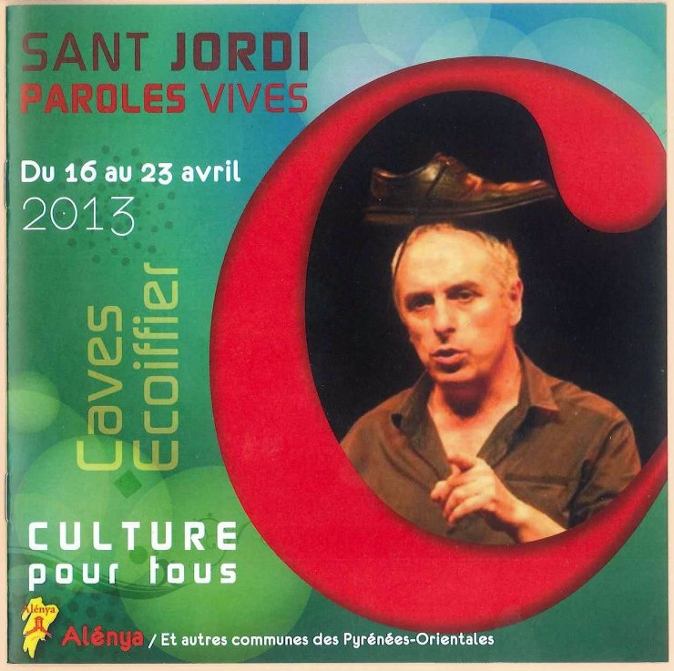 Festival Paroles vives Sant Jordi