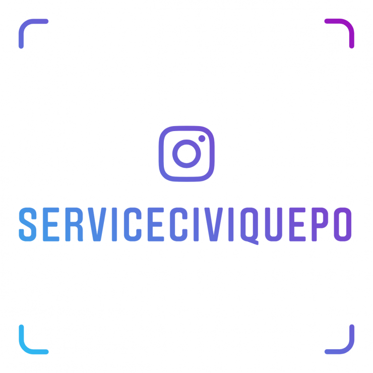 Le Service Civique arrive sur Instagram!